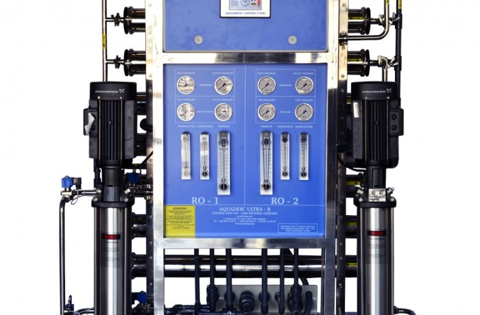 DOUBLE PASS ON-LINE REVERSE OSMOSIS SYSTEM – AQUADEM ULTRA-B