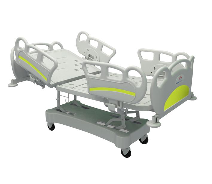 Многофункционално медицинско легло с 2 електромотора HB01-F